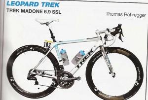 Vélo équipe Leopard Trek