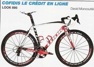vélo de l' équipe Cofidis