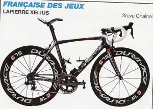 vélo  de la Française des Jeux