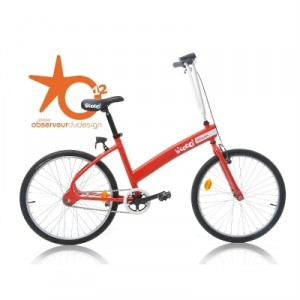 Vélo Décathlon B'cooOl rouge