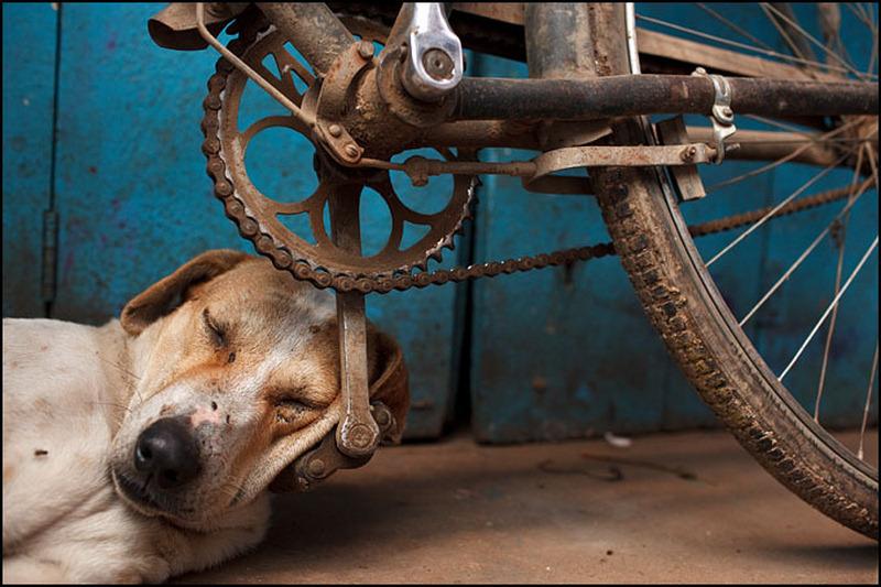 recycler un vieux vélo