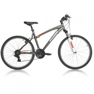 Vélo Décathlon VTT Rockrider 5.1 gris