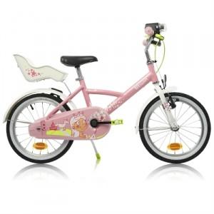 Vélo Décathlon enfant 16 pouces Princess