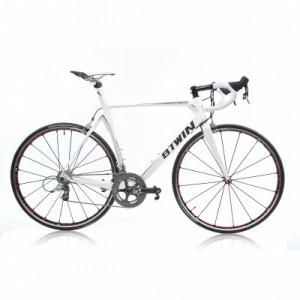 Vélo Décathlon  route Btwin Facet 7 blanc