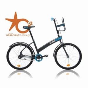 Vélo Décathlon B'coo0l Automatique Gris