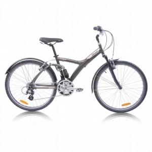 Vélo Décathlon VTC Original 7 tout suspendu 2012